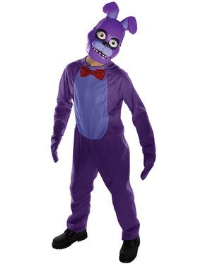Childrens Five Nights at Freddy's Bonnie Costume