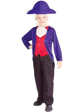 Children's George Washington Costume