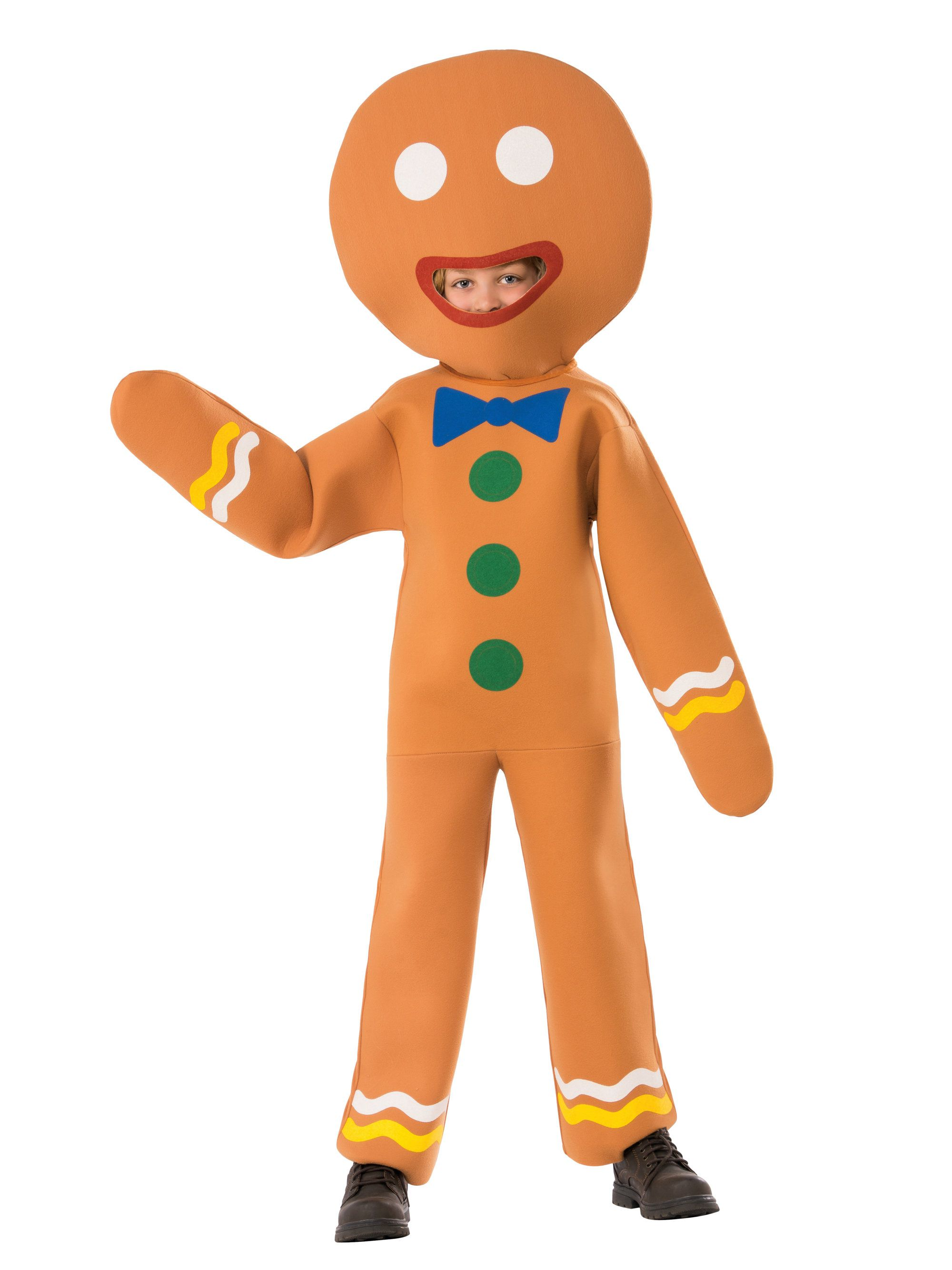 sc 1 st  Wholesale Halloween Costumes & Childrenu0027s Gingerbread Man Costume