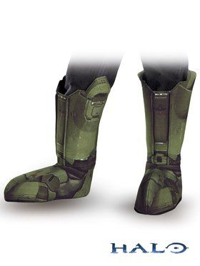 Childrens Halo Master Chief Boot Covers