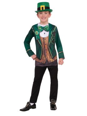 Children's Instantly Irish Child Costume Top