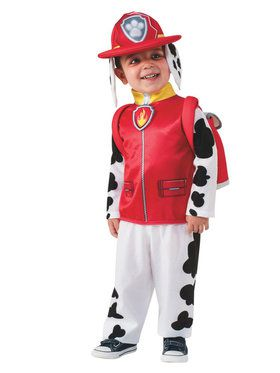 Childrens Paw Patrol Marshall Costume
