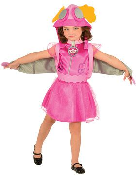 Childrens Paw Patrol Skye Costume