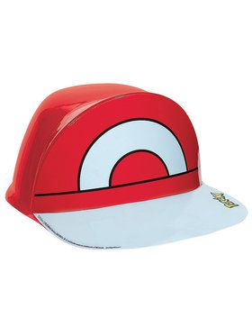 Children's Pokemon Ash Vacuform Hat