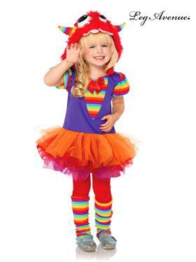 Children's Rainbow Monster Costume