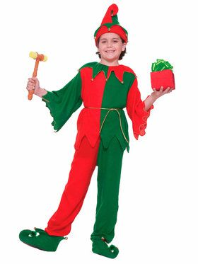 Childrens Santa's Elf Costume