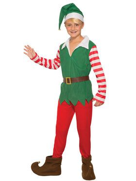 Childrens Santa's Helper Costume