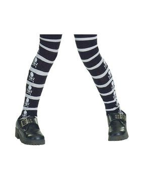 Children's Skull & Bones Tights
