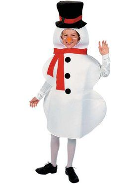 Childrens Snow Man Boy's Costume