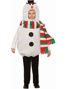 Children's Snowman Costume