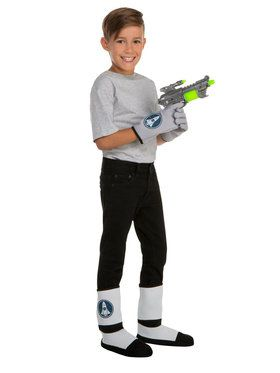 Space Gloves, Boot Covers and Gun Set For Children