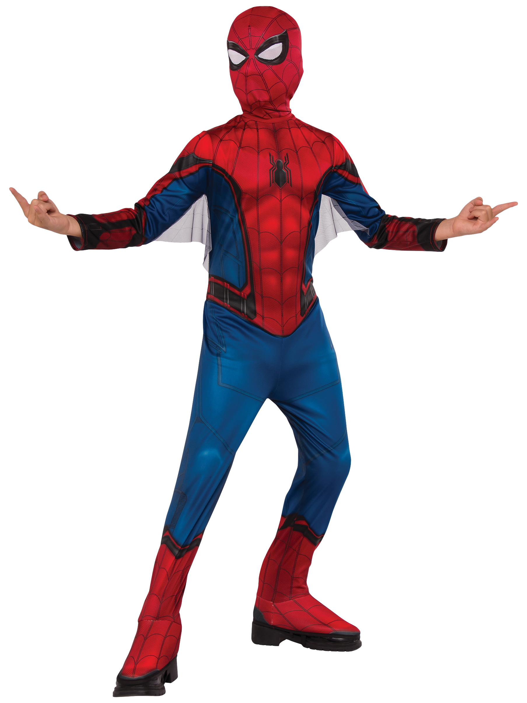 Spider-Man Homecoming Spiderman Child Costume R630730-L