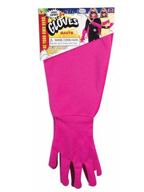 Children's Superhero Gauntlets Pink
