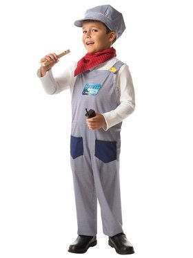 Children's Thomas And Friends Conductor Play Box Set Boy's Costume