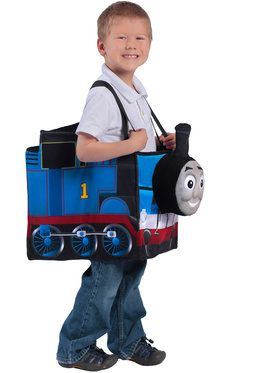 Children's Thomas The Tank Engine Ride In Train Boy's Costume