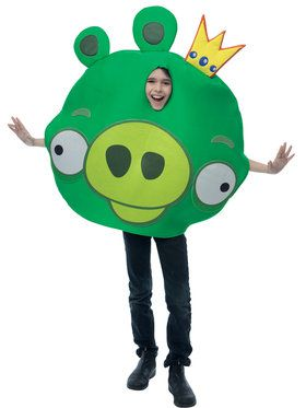 Childs Angry Birds King Pig Costume