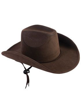 Child's Brown Cowboy Hat