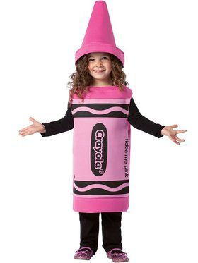 Child's Crayola Tickle Me Pink Costume