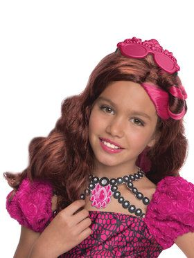 Child's Ever After High Briar Beauty Wig and Headpiece