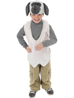 Child's Lamb Nativity Vest and Hat Set