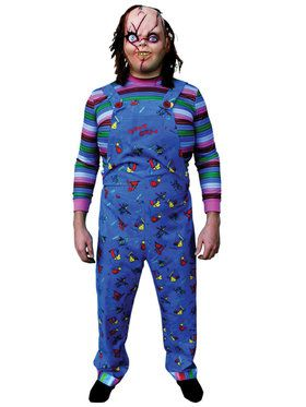 Adult Deluxe Child's Play 2 Good Guy Costume