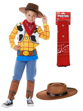 Child's Toy Story 4 Woody Costume Kit