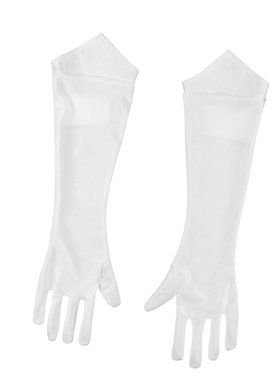Child's White Princess Peach Gloves