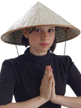 Chinese Bamboo Adult Hat