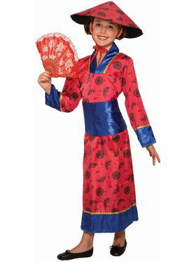Chinese Girl Child Costume