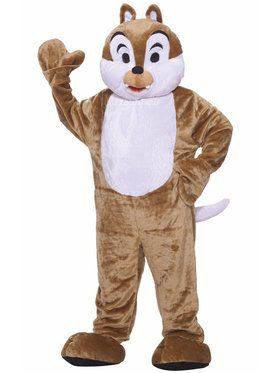 Chipmunk Deluxe Mascot Costume For Adults