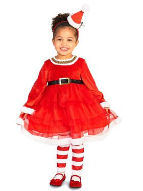 Christmas Diva Costume For Toddlers