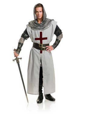 Adult's Chivalrous Knight Costume