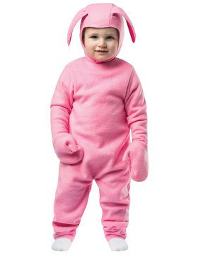 Christmas Bunny Childrens Costume