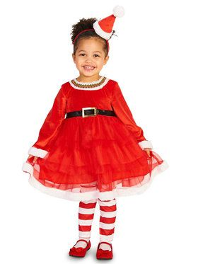 Christmas Diva Costume For Children