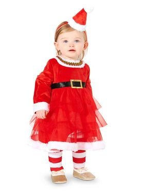 Baby Christmas Diva Costume For Babies