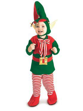 Christmas Elf Infant/toddler Costume