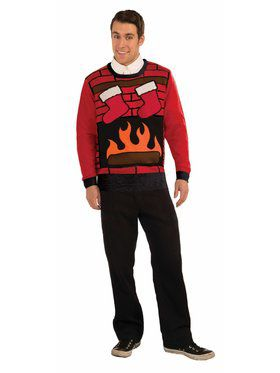 Christmas Eve Sweater Costume Top