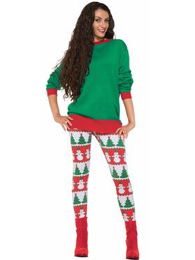 Christmas Leggings for Women