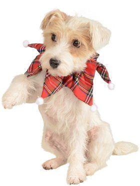 Plaid Christmas Collar for Pets
