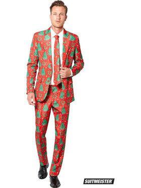 Mens Christmas Tree Suitmeister Suit