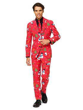 Christmaster Opposuit Men's Costume