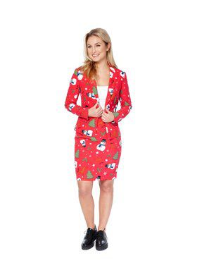 Christmiss Womens Opposuit for Halloween