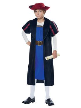 Christopher Columbus/Explorer Costume For Boys