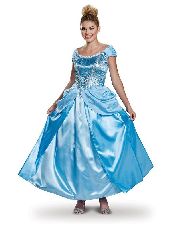 Adult Deluxe Cinderella Costume  sc 1 st  Wholesale Halloween Costumes & Adult Deluxe Cinderella Costume - Womens Costumes for 2018 ...