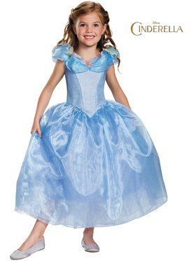 Cinderella Movie Deluxe Girls Costume