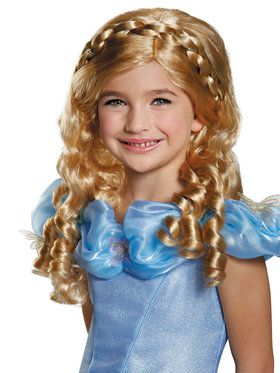 Cinderella Movie Girls Wig
