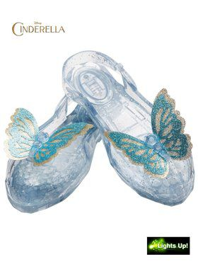 Cinderella Movie Light Up Childrens Shoes