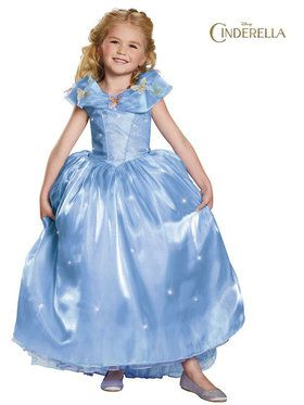 Cinderella Movie Ultra Prestige Girl's Costume