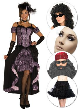 Bearded Circus Lady Kit Black