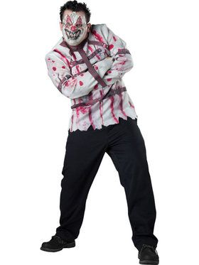 Circus Psycho Plus Size Men's Costume